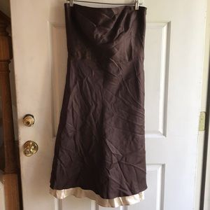 NWT Ann Taylor strapless dress